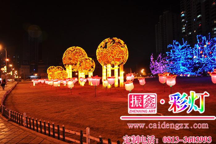 提供城市亮化项目的彩灯制作公司